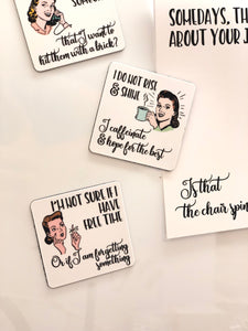 WITTY WOMEN MAGNETS