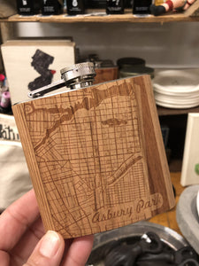 AW- City Map Flask