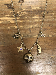 TS Stars & Moons Necklace