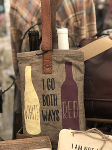 Both Ways Double Wine Bag
