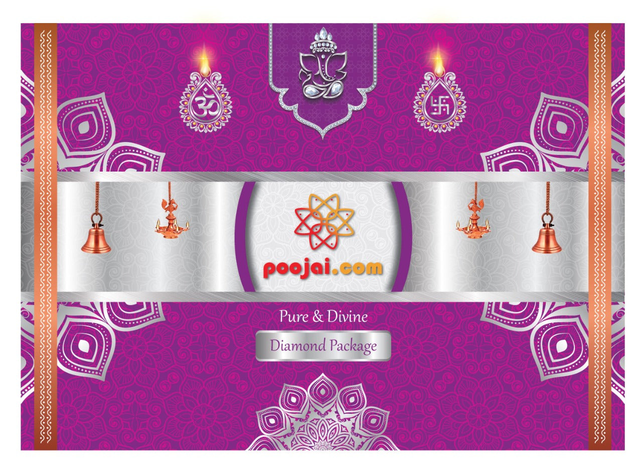 Monthly Home Need Pooja Kit - Diamond