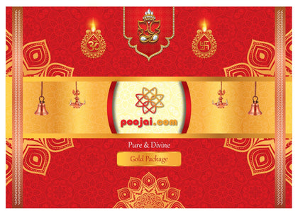 Monthly Home Need Pooja Kit - Gold
