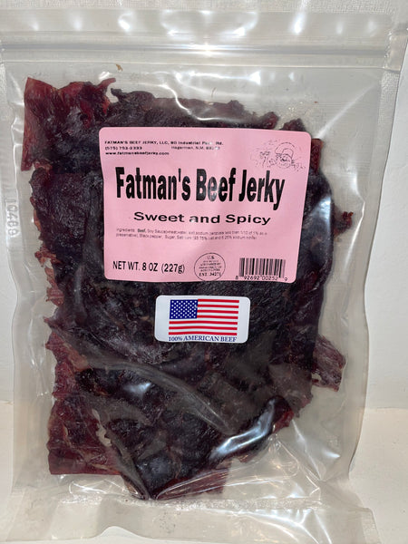 Fatman's 8.0 oz Grass-Fed Beef