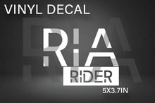 Load image into Gallery viewer, RIA RIDER DECAL