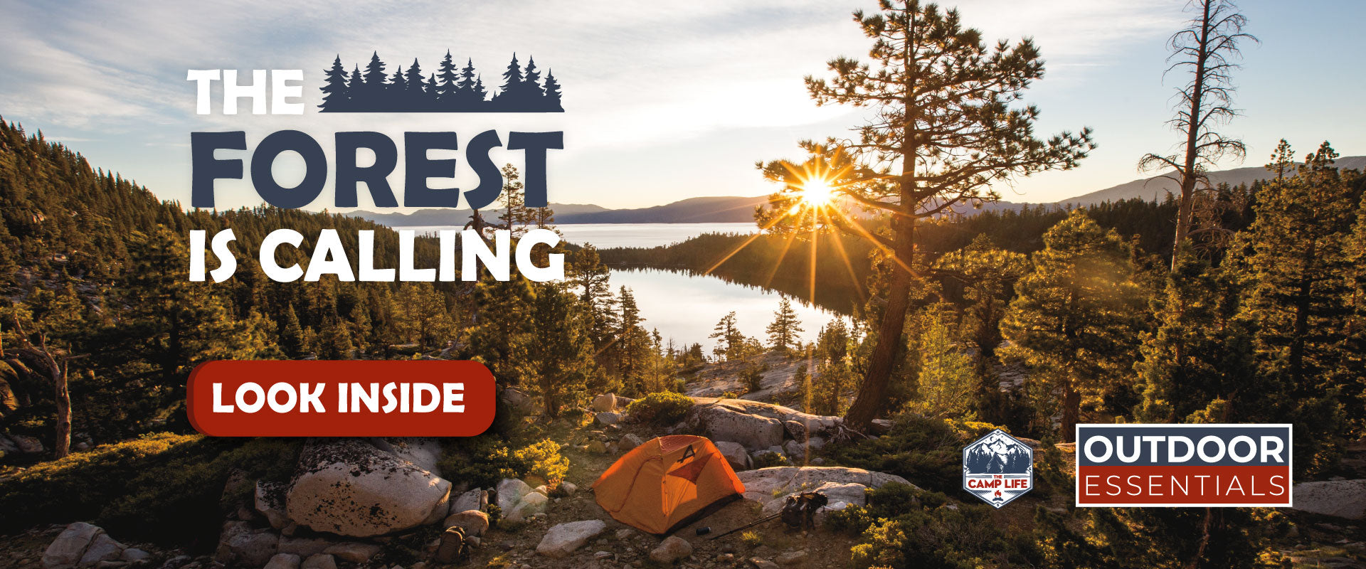 The Forest is Calling - Outdoor Essentials