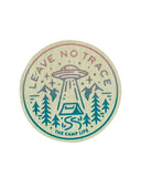 Leave No Trace Wood Sticker