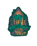 Stay Wild Wood Sticker