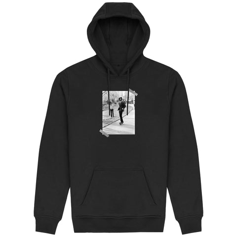 The Commute Hoodie - Black - 11ing