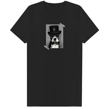 The Posh Dog Tee - Black - 11ing