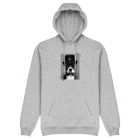 The Posh Dog Hoodie - Grey - 11ing
