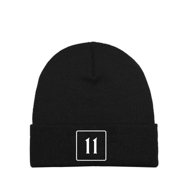 The 11 Beanie - Black - 11ing