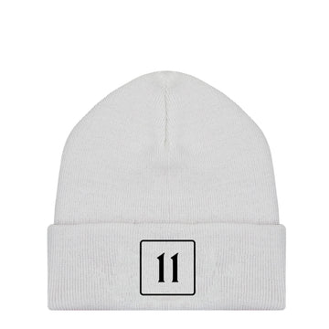 The 11 Beanie - White - 11ing
