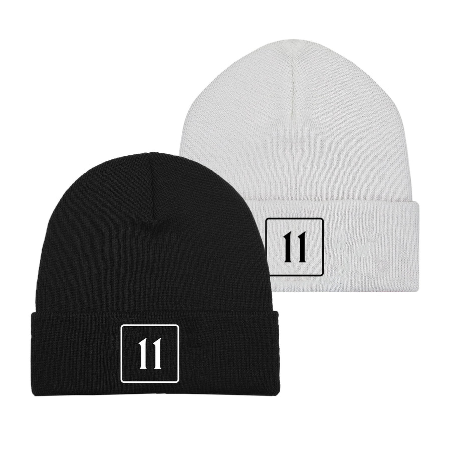 The 11 Beanie Combo - Black/White - 11ing