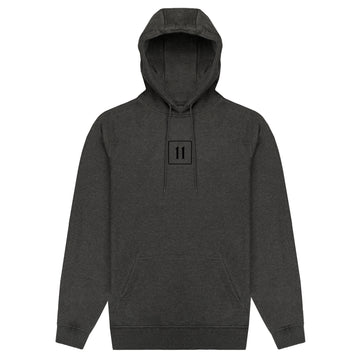Classic Logo Hoodie - Charcoal - 11ing