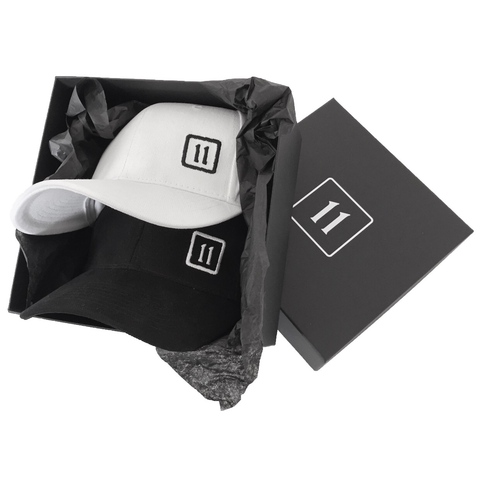 The 11 Cap - Black & White - 11ing