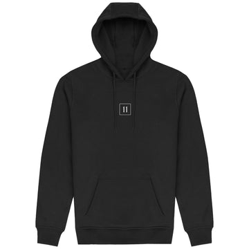 The 11 Hoodie - 3D white rubber logo