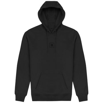 The 11 Hoodie - 3D black rubber logo