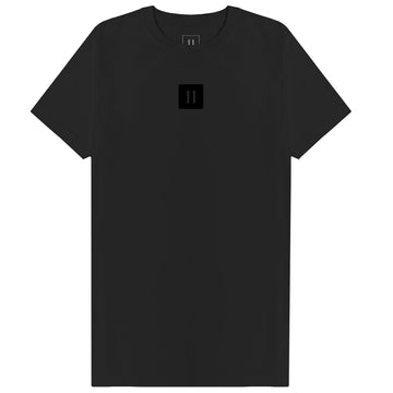 Triple Black Block Logo Tee - 11ing