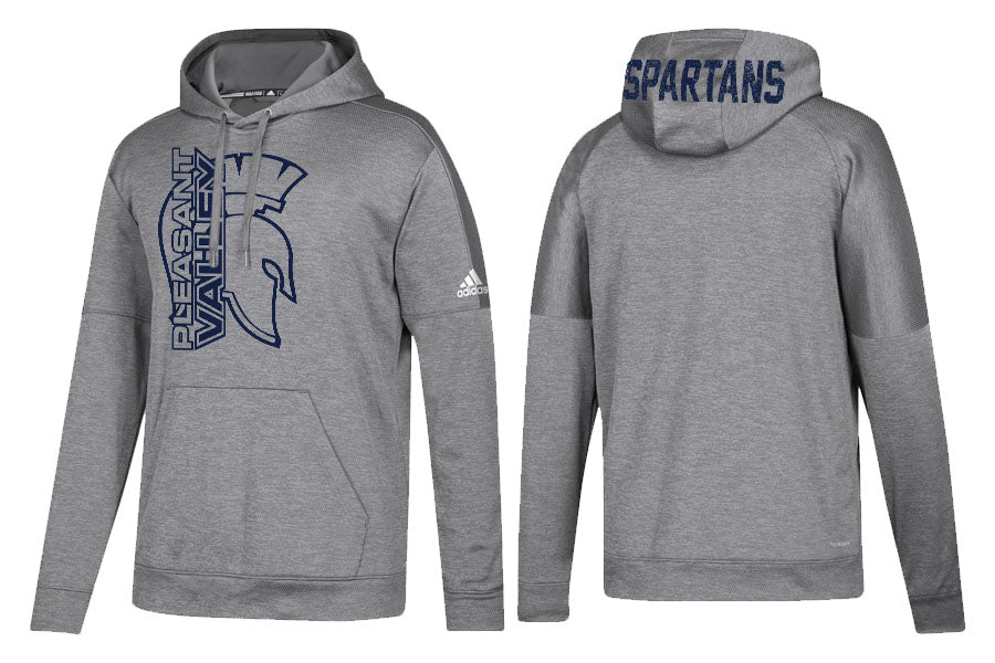 Adidas Team Issue Hoody - Grey