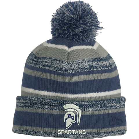 New Era Sideline Striped Beanie