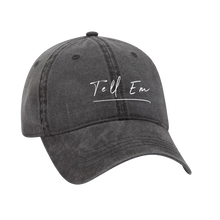 Load image into Gallery viewer, Black Tell Em Hat