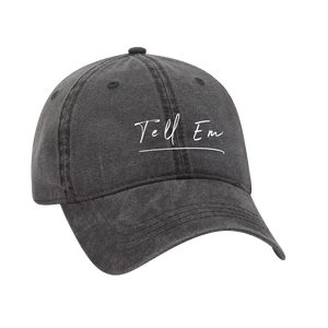 Black Tell Em Hat