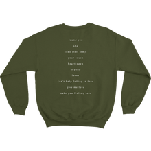 Load image into Gallery viewer, Army Green Crewneck
