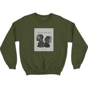 Army Green Crewneck