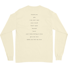 Load image into Gallery viewer, Cream Classic White LS T-Shirt