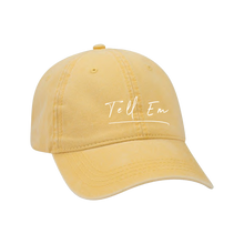 Load image into Gallery viewer, Yellow Tell Em Hat