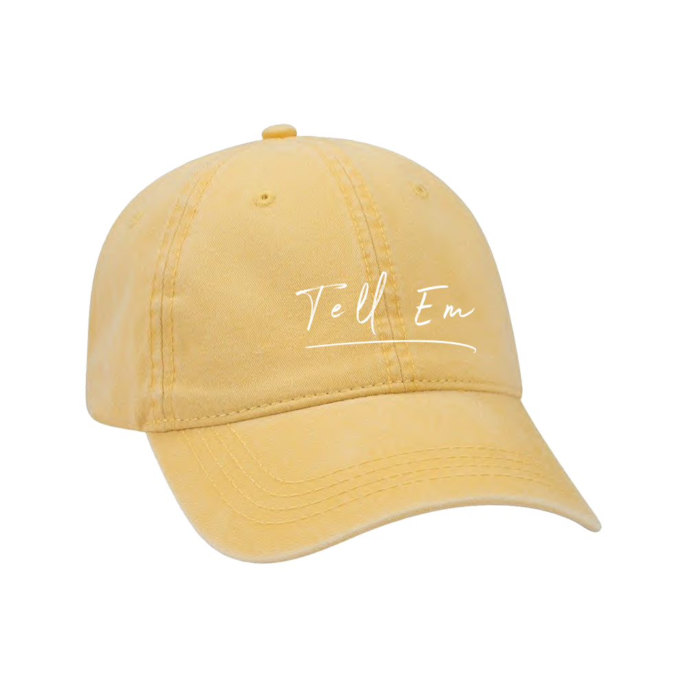 Yellow Tell Em Hat