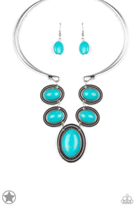 River Ride Turquoise Necklace