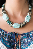 In Good Glazes Blue Necklace