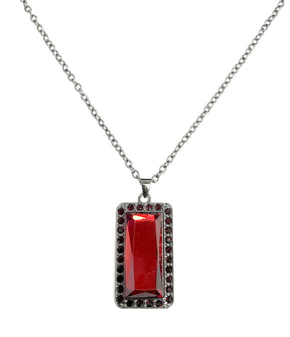 Bada BLING Bada Boom Red Necklace