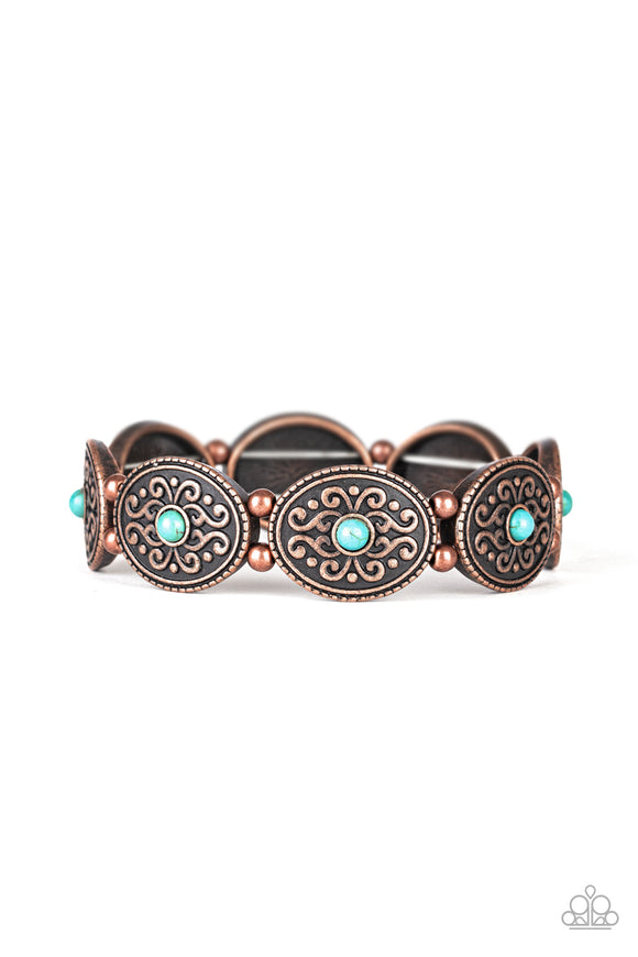 West Wishes Copper Bracelet