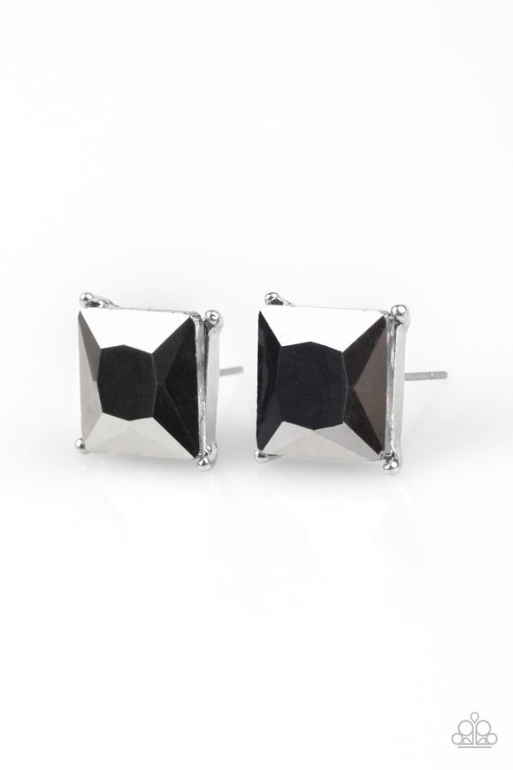 The Big Bang Silver Post Earrings
