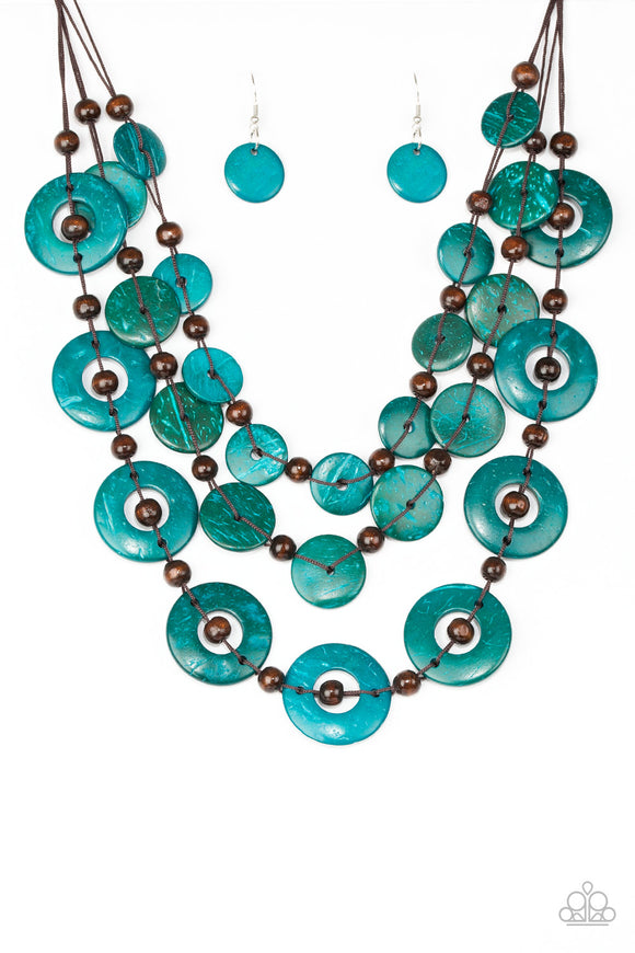 Catalina Coastin Blue Necklace