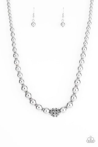 High-Stakes FAME Silver Necklace
