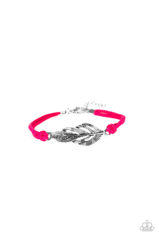 Faster Than FLIGHT Pink Bracelet