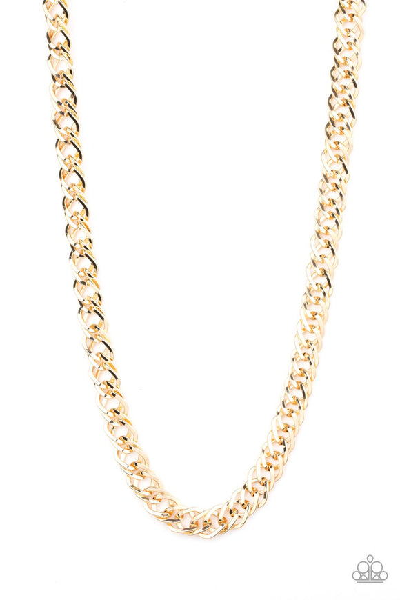The Undefeated Gold Necklace
