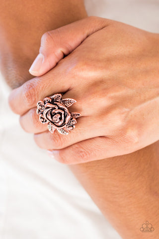 Bouquet Bonanza Copper Ring