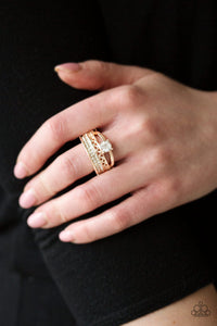The Overachiever Rose Gold Ring