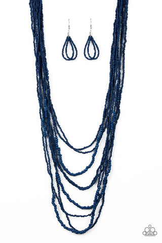 Totally Tonga Blue Necklace