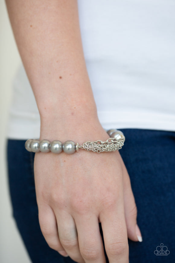 Hollywood Heels Silver Bracelet
