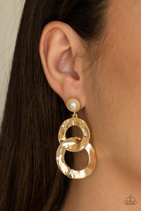 Oh Scene Gold Earrings