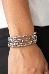 Colorful Charisma Purple Bracelet