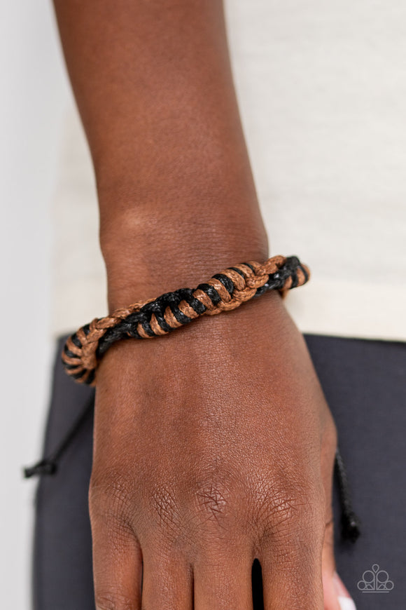 Outdoor Expedition Brown Bracelet