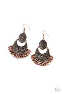 Western Trails Copper Earrings