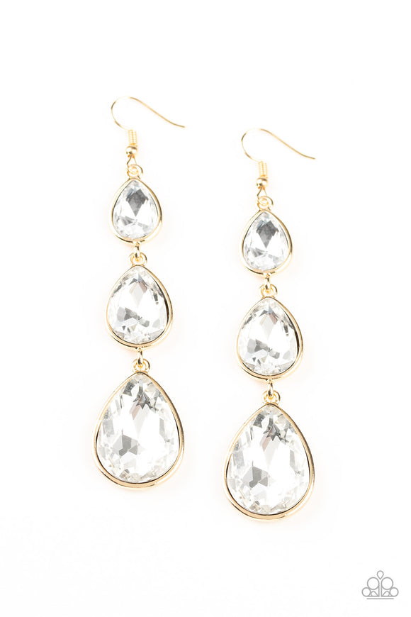 Metro Momentum Gold Earrings