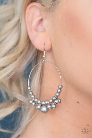 Effortless Effervescence Silver Earrings